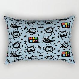 Waz Up? Rectangular Pillow