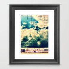 Reserved I Framed Art Print