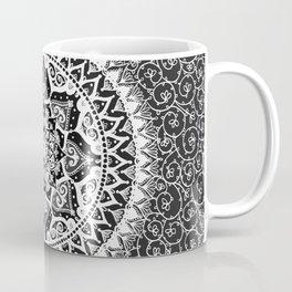 Yin Yang Mandala Pattern Coffee Mug