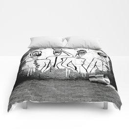 4Ladies - Banksy - GRAFITTI Comforters