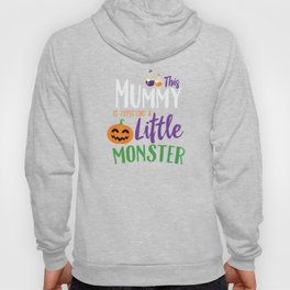 This Mummy is Expecting A Little Monster Halloween Hoody