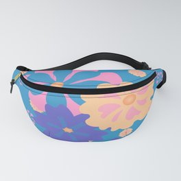 Springy Floral Pattern Fanny Pack