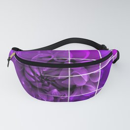 Chequered Flower design Fanny Pack