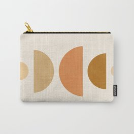 Abstraction_Geometric_Shape_Moon_Sun_Minimalism_001D Carry-All Pouch