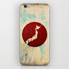 To Japan iPhone & iPod Skin