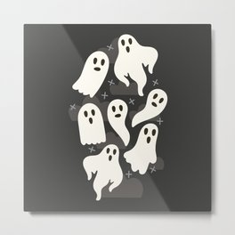 Ghosts Metal Print