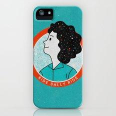 Ride Sally Ride Slim Case iPhone (5, 5s)
