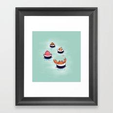 Tasty playground Framed Art Print