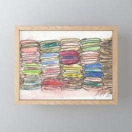 A Feast of Macarons Framed Mini Art Print