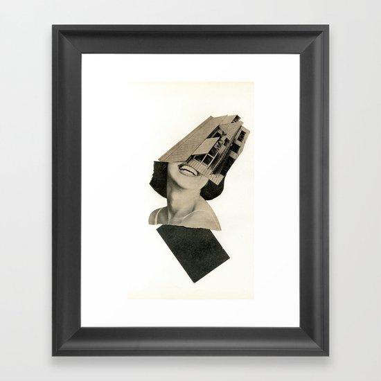 New Geometry Framed Art Print