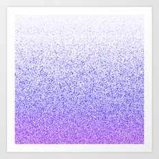 I Dream in Purple Art Print