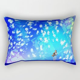 """""""Pastiche Takes Flight In Oz""""  by surrealpete Rectangular Pillow"""