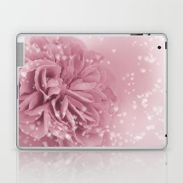 Light Pink Rose with hearts #1 #floral #art #society6 Laptop & iPad Skin
