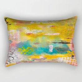 Summer Afternoons Rectangular Pillow
