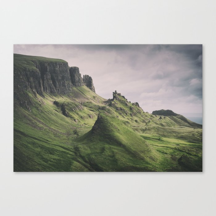 The Majesty of the Quiraing Canvas Print