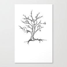 Peace Tree Canvas Print
