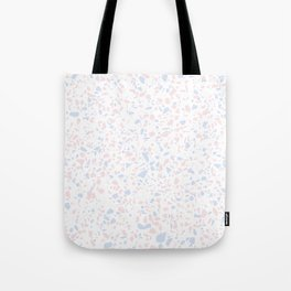 'Speckle Party' Lilac + Pink Dots Speckle Terrazzo Pattern Tote Bag