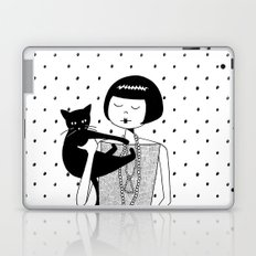 the cat's meow Laptop & iPad Skin