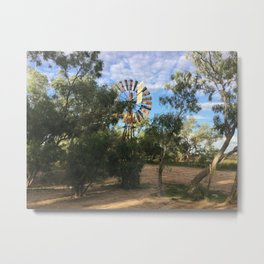 Old Cork Camp, Qld Metal Print