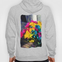 Spring daisies on The Porch Hoody