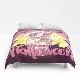 Happy Halloween Chibiusa Comforters