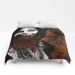 Eat Your Heart Out Comforters