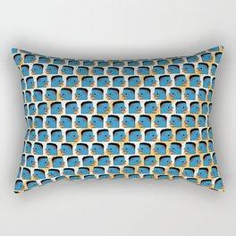 Mr. Triple-Double - Faces Rectangular Pillow