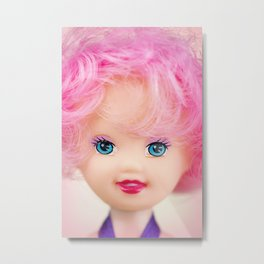 Pink & Cheery Metal Print