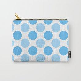 Blue polka dots Carry-All Pouch