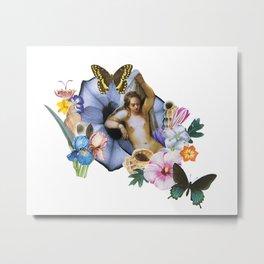 Aphrodite Blooming Metal Print