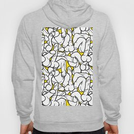 Schlong Song in Yellow, All the Penis! Hoody