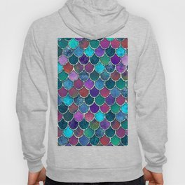 Colorful Mermaid Scales Hoody