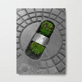 little green Metal Print