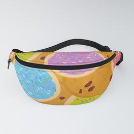 Frosted sugar cookies, Chocolate chip cookie, Italian Freshly baked sugar cookies Fanny Pack