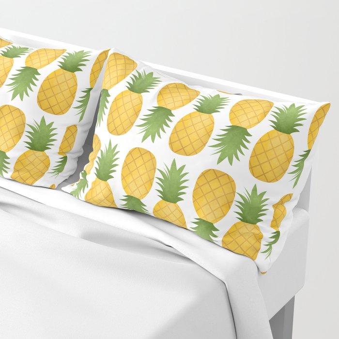 Pineapple Pattern Pillow Sham