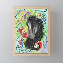 Fancy Pony Framed Mini Art Print
