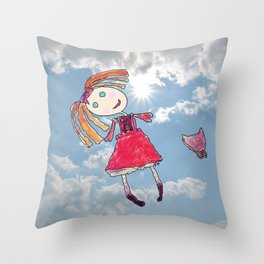 Lallala Elisaveta Throw Pillow