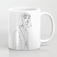 minimal drawing  Mug