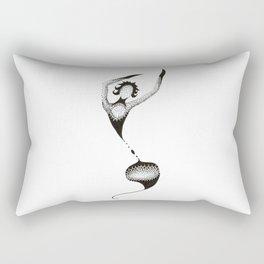 Dotted Dancer Eight Rectangular Pillow