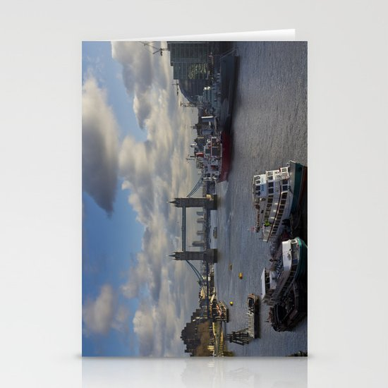The River Thames Stationery Cards