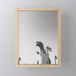 DINO / Cabazon Dinosaurs, California Framed Mini Art Print