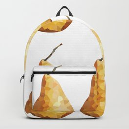 pears 2x3 pattern, fill, repeating, tiled | elegant Backpack