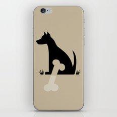 Gave a Dog a Bone (Tan) iPhone & iPod Skin