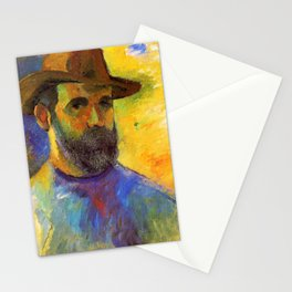 Self Portrait - Henri Charles Manguin Stationery Cards