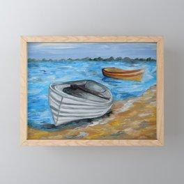 Caught in the Tide Framed Mini Art Print
