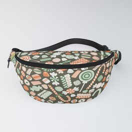 Christmas Candy Fanny Pack