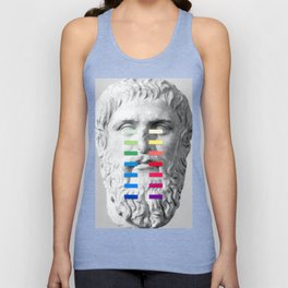 Sculpture With A Spectrum 1 Unisex Tank Top