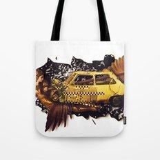 The Big Bang | Collage Tote Bag