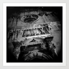 Midnight in Dubrovnik 03 Art Print