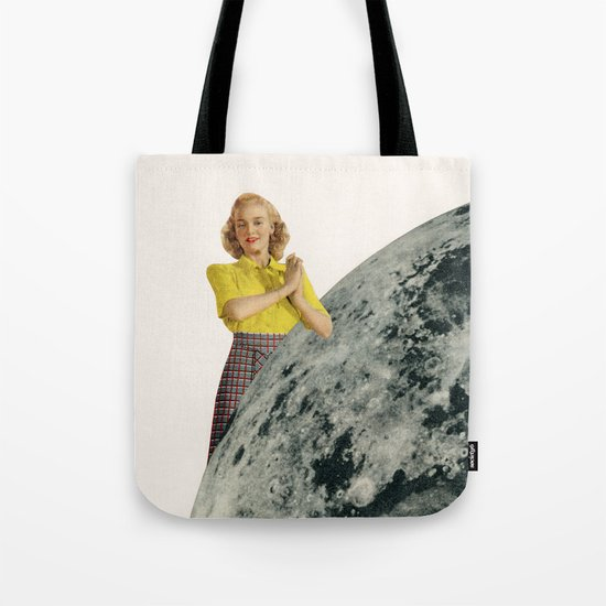 He Gave Her The Moon Tote Bag